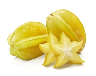 starfruits and slices